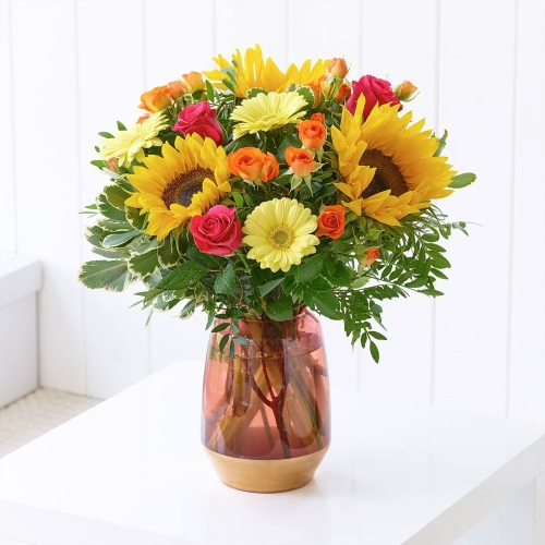 Sunkiss, Bright sunflower bouquet