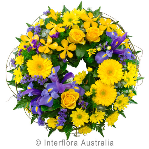 Faith, Cluster Wreath Suitable for Service