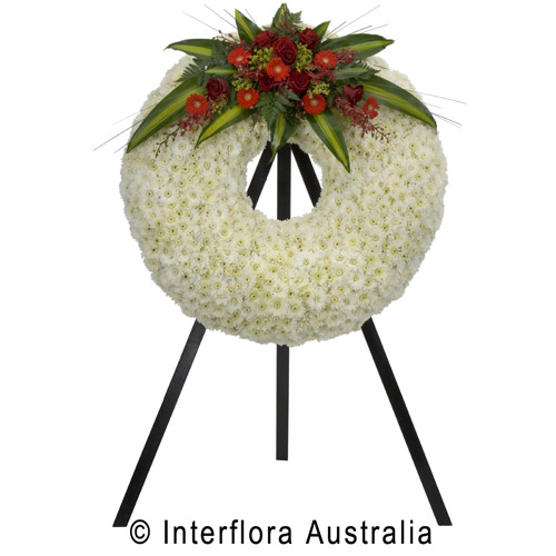 Unforgettable, Large Traditional Wreath (Stand Not Included)